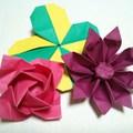 折り紙で作る立体&平面のお花9選!簡単初心者向け〜難しい中級者向けまで!