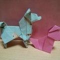 折り紙で作れる「犬」シリーズまとめ!簡単でかわいい折り方13選をご紹介!