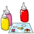 ガラス絵の具で簡単にアート作品を作る方法は?塗り方のコツや注意も解説!