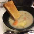 【連載】旦那めし。オニオンスープをリメイク!クリームシチュー